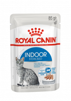 Royal Canin Indoor Sterilized в паштете