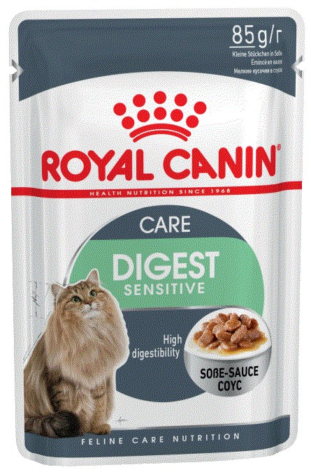Royal Canin Digest Sensitive Care кусочки в соусе