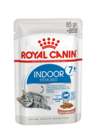 Royal Canin Indoor Sterilized 7+ кусочки в соусе
