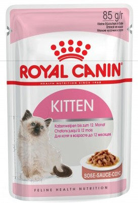 Royal Canin Kitten Instinctive кусочки в соусе