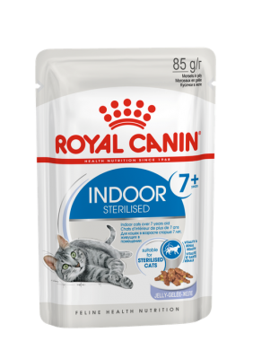 Royal Canin Indoor Sterilized 7+ кусочки в желе