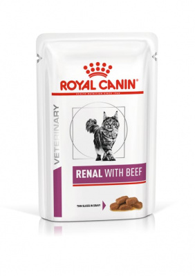 Royal Canin Renal (говядина, пауч) 0.085кг